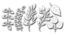 Frantic Stamper Precision Die - Assorted Foliage