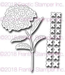 Frantic Stamper Precision Die - Beautiful Hydrangea