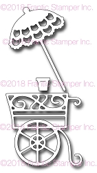 Frantic Stamper Precision Die - Flower Cart