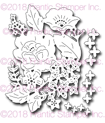 Frantic Stamper Precision Die - Botanical Spray