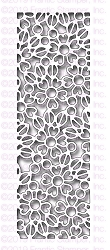 Frantic Stamper Precision Die - Floral Lace Reverse-Cut Strip
