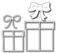 Frantic Stamper Precision Die - Gifts and Bows (set of 4 dies)