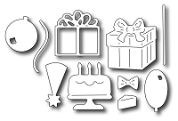 Frantic Stamper Precision Die - Birthday Icons (set of 10 dies)
