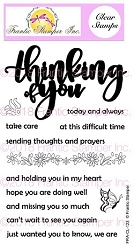 Frantic Stamper Clear Stamp Set - Giant Thinking of You
