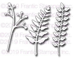 Frantic Stamper Precision Die - Lovely Leafage