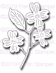 Frantic Stamper Precision Die - Dogwood Branch