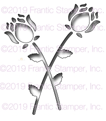 Frantic Stamper Precision Die - Reverse Cut Dutch Roses