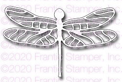 Frantic Stamper Precision Die - Lace Dragonfly