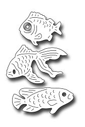 Frantic Stamper Precision Die - Three Fish
