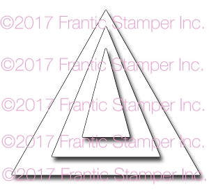 Frantic Stamper Precision Die - Triangular Banner Makers