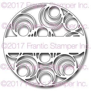 Frantic Stamper Precision Die - Optic Circle