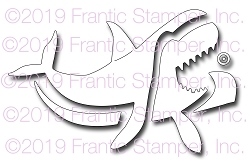 Frantic Stamper Precision Die - Happy Shark