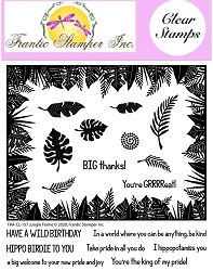 Frantic Stamper Clear Stamp Set - Jungle Frame
