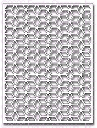 Frantic Stamper Precision Die - Star Quilt Card Panel