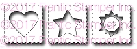Frantic Stamper Precision Die - Bitty Summer Postage