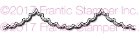 Frantic Stamper Precision Die - Large Scalloped Scallop Edger