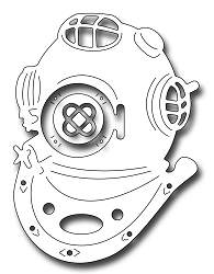 Frantic Stamper Precision Die - Diving Helmet