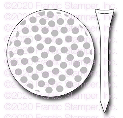 Frantic Stamper Precision Die - Golf Ball & Tee