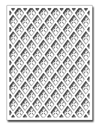 Frantic Stamper Precision Die - Argyle Card Panel