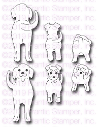 Frantic Stamper Precision Die - Front & Back Dogs