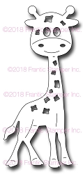 Frantic Stamper Precision Die - Gladys the Giraffe