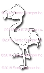 Frantic Stamper Precision Die - Flo the Flamingo
