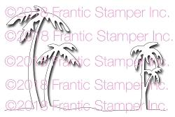 Frantic Stamper Precision Die - Palm Tree Edger