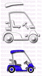 Frantic Stamper Precision Die - Big Golf Cart
