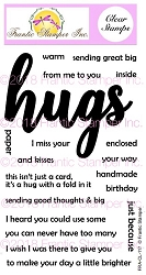 Frantic Stamper Clear Stamp Set - Giant Hugs