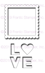 Frantic Stamper Precision Die - Shake Your Love