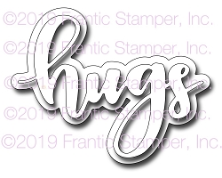 Frantic Stamper Precision Die - Giant Layered Hugs