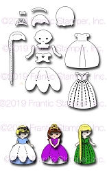 Frantic Stamper Precision Die - Fairytale Princesses