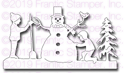 Frantic Stamper Precision Die - Snow Play