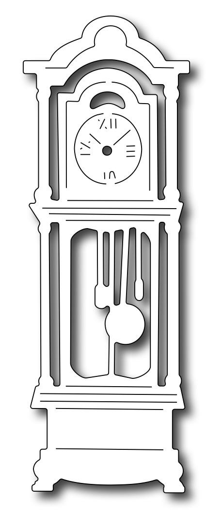 Frantic Stamper Precision Die Grandfather Clock