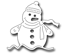 Frantic Stamper Precision Die - Wilfred The Snowman
