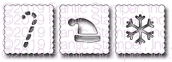 Frantic Stamper Precision Die - Bitty Winter Postage