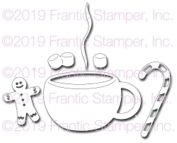 Frantic Stamper Precision Die - Cocoa Cup