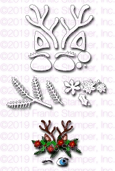 Frantic Stamper Precision Die - Reindeer Features