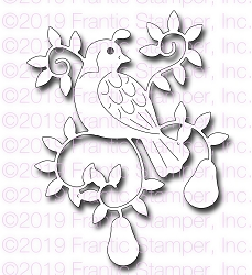 Frantic Stamper Precision Die - Partridge In A Pear Tree