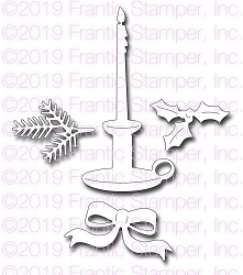 Frantic Stamper Precision Die - Tapered Candle