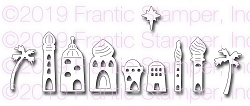 Frantic Stamper Precision Die - O Little Town of Bethlhem