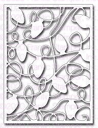 Frantic Stamper Precision Die - Tangled Lights Card Panel
