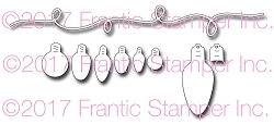 Frantic Stamper Precision Die - String Of Lights