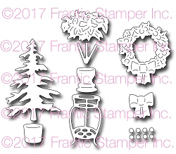 Frantic Stamper Precision Die - Christmas Door Accessories