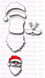 Frantic Stamper Precision Die - Santa Face Maker