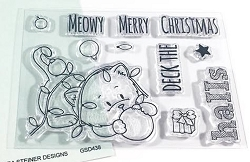 Gerda Steiner - Clear Stamps - Deck the Halls