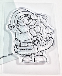 Gerda Steiner - Clear Stamps - Puppy Kisses for Santa