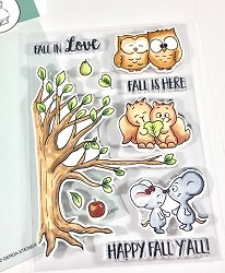 Gerda Steiner - Clear Stamps - Fall in Love