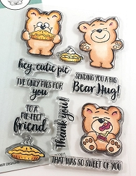 Gerda Steiner - Clear Stamps - More Than Pie