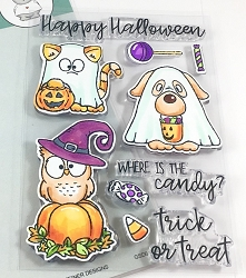 Gerda Steiner - Clear Stamps - Where is the Candy?